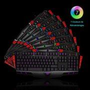 Clavier-AZERTY-7-Couleurs-de-Rtroclairages-8-Touches-Macro-Programmables-26-Touches-Simultanes-Anti-ghosting-KINGTOP-Clavier-de-Jeu-USB-Rglable-0-2