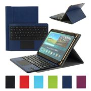 Clavier-AZERTY-Bluetooth-30-tui-Housse-pour-tout-systme-Windows-Android-Tablette-PC-90-106-pouces-Touchpad-tactile-0