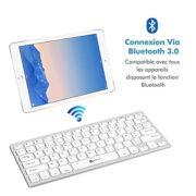Clavier-Bluetooth-iClever-Clavier-Sans-fil-AZERTY-Mini-Clavier-Franais-Ultra-mince-et-Portable-pour-iOSMac-Windows-Android-Smartphone-PC-Tablette-Blanc-0-0
