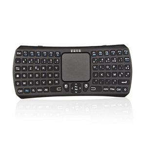 Jelly-Comb-Mini-Clavier-Bluetooth-Sans-Fil-AZERTY-Rechargeable-Portable-avec-Pav-Tactile-pour-Tablette-Ordinateur-Smartphone-Noir-0