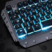KLIM-LIGHTNING-NOUVEAU-Clavier-Hybride-Semi-Mcanique-AZERTY-Choix-de-7-couleurs-Garantie-5-ans-Structure-en-Mtal-Clavier-gamer-gaming-jeux-vidos-PC-Windows-Mac-0-2