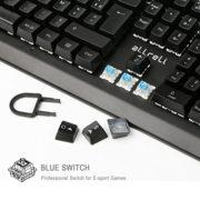 aLLreLi-Clavier-Gaming-Mcanique-USB-Clavier-de-Jeu-AZERTY-avec-105-Touches-LED-RGB-pour-Joueur-dactylographes-etc-0-2