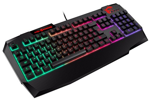 MSI-INTERCEPTOR-DS4200-Clavier-Gaming-PC-filaire-AZERTY-membrane-sensation-mcanique-avec-rtroclairage-LED-RGB-et-rsistant–leau-0