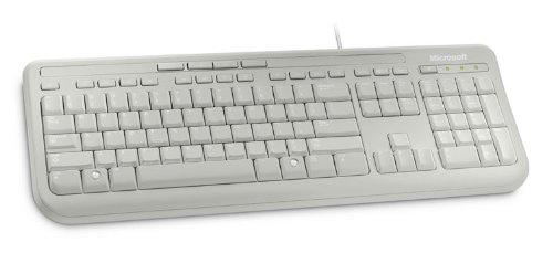 Microsoft-Wired-Keyboard-600-Clavier-filaire-Blanc-AZERTY-0