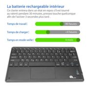 1byone-Clavier-Bluetooth-AZERTY-avec-Multi-Touchpad-Ultra-Fin-Clavier-Tactile-Pour-iPad-Galaxy-Tabs-iPhone-Huawei-Samsung-Oneplus-et-autres-Androidphones-0-0