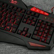 BAKTH-Filaire-Clavier-Gamer-7-Couleurs-Luminosits-LED-Rtro-clair-USB-Clavier-Gaming-et-Souris-Combos-Grand-Tapis-de-Souris-0-0