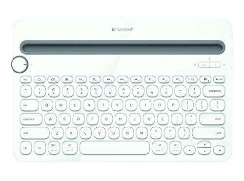 Logitech-K480-Clavier-Bluetooth-Multi-Device-sans-fil-pour-PC-Smartphone-et-Tablette-AZERTY-Blanc-0