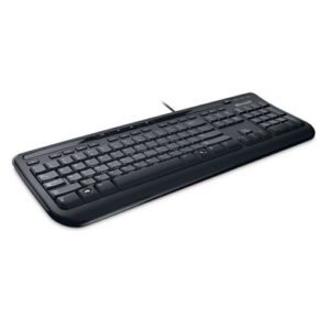 Microsoft-Wired-Keyboard-600-Clavier-filaire-Noir-AZERTY-0