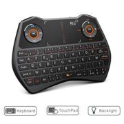 Rii-Mini-i28C-ONE-Wireless-AZERTY-Mini-Clavier-Franaise-sans-Fil-avec-Souris-Touchpad-Rtro-clair-0-0