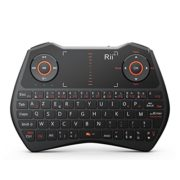 Rii-Mini-i28C-ONE-Wireless-AZERTY-Mini-Clavier-Franaise-sans-Fil-avec-Souris-Touchpad-Rtro-clair-0