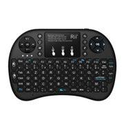 Rii-Mini-i8-Wireless-AZERTY-Mini-Clavier-Franaise-Rtro-clair-Ergonomique-sans-Fil-avec-Touchpad-Pour-Smart-TV-mini-PC-HTPC-Console-Ordinateur-Noir-0-0