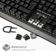 aLLreLi-Clavier-Mcanique-Gamer-RGB-Rtroclairage-AZERTY-Filaire-USB-et-105-Touches-Brown-Switch-0-2
