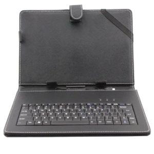 AFUNTA-tui-de-Protection-en-Cuir-pour-Tablette-Ordinateur-Portable-avec-Clavier-Housse-pour-10-Tablette-PC-avec-Micro-USB-Clavier-et-Stylo-Capacitif-0