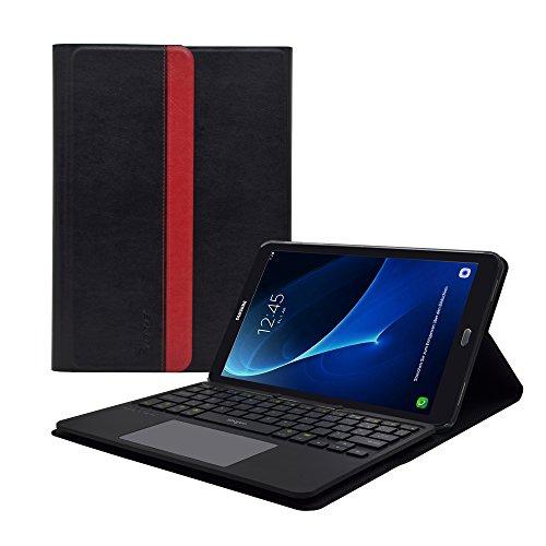 Samsung-Galaxy-Tab-A-101-pouces-2016-Housse-de-protection-tui-coque-smart-book-case-Clavier-enlevable-AZERTY-Stand-de-positionnement-support-Touchpad-Multitouch-intgrs-de-LEICKE-Sharon-0