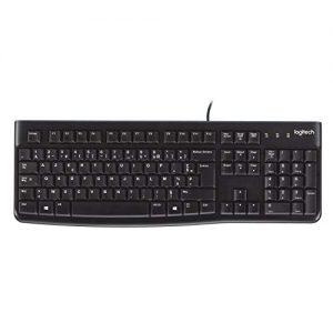 Logitech-920-002488-K120-Keyboard-Clavier-filaire-AZERTY-Francais-USB-Noir-0