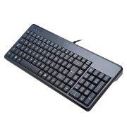 Perixx-PERIBOARD-220-H-Clavier-Filaire-avec-Port-USB-Compact-398x145x30-mm-Configuration-AZERTY-0-0