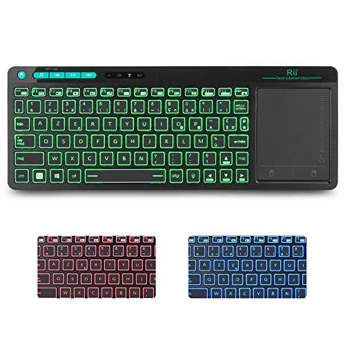 Rii-Nouvelle-gnration-K18RGB-Clavier-sans-Fil-Franais-AZERTY-avec-Souris-Tactile-de-Grande-Taille-Intgre-Wireless-Batterie-Li-ION-Rechargeable-0