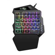 iAmotus-Clavier-de-Jeu-Portable-Ergonomie-Clavier-Gaming--Une-Main-35-Touches-Mcanique-Sensation-RGB-LED-Rtro-clairage-Demi-taille-Mini-Clavier-pour-PC-WindowsMac-Noir-0