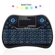 ANEWISH-AZERTY-Mini-Clavier-sans-Fil-Rtro-clair-7-Couleurs-avec-Touchpad-24GHz-Wireless-Clavier-pour-Smart-TV-Mini-PC-HTPC-Console-Ordinateur-0