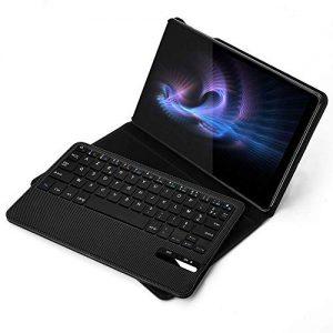 Jelly-Comb-Clavier-Bluetooth-Coque-pour-Samsung-Tab-A-101-2019-Clavier-Dtachable-tui-de-Protection-en-PU-Version-Samsung-Galaxy-T515-T510-Noir-0
