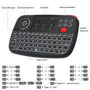 Rii-Nouveau-i4-Mini-Clavier-sans-Fil-Bluetooth-Wireless-24-Ghz-AZERTY-avec-Clavier-rtro-clairTouchPad-pour-iOS-Android-Android-Box-Smartphone-PS4-Xbox-Apple-TV-Tablet-et-PC-0-0