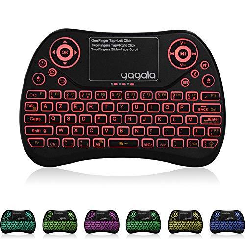 YAGALA-AZERTY-24GHz-Mini-Clavier-rtro-clair-Ergonomique-avec-cran-Tactile-Touchpad-pour-Android-TV-Box-Smart-TV-Mini-PC-HTPC-Ordinateur-Version-franais-0