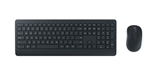 Microsoft–Wireless-Desktop-900–Ensemble-clavier-et-souris-sans-fil-avec-rcepteur-USB-compatible-Windows-et-macOS-Clavier-AZERTY-franais–Noir-PT3-00007-0