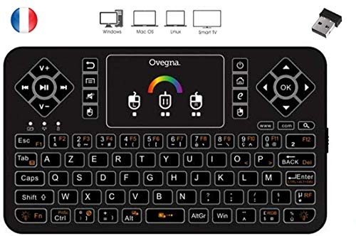 Ovegna-Q9-mini-clavier-sans-fil-AZERTY-Wireless-24Ghz-Touchpad-batterie-rechargeable-Rtro-claire-RVB-pour-Smart-TV-PC-mini-PC-Mac-Raspberry-PI-234-Consoles-laptop-et-Android-Box-0