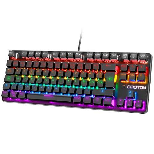 Clavier-Mcanique-Gamer-AZERTY-OMOTON-Clavier-Mcanique-Gamer-TKL-Rtroclair-RGB-LED-Clavier-Gaming-pour-PS4-PC-Ordinateur-Blue-Switches-100-Anti-ghosting-Raccourci-Multimdias-Noir-0