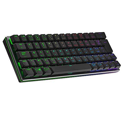 Cooler-Master-SK622-Clavier-Gaming-sans-Fil-Configuration-Compact-60-switchs-mcaniques-Low-Profile-clairage-RGB-connectivit-Bluetooth-ou-cble-Compatible-ApplePCSmartphone-AZERTY-Noir-0