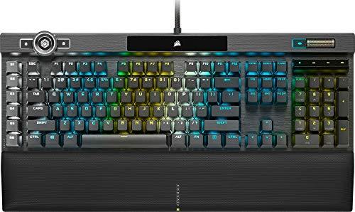 Corsair-Clavier-Gaming-Optique-Mcanique-K100-RGB-Rtroclairage-LED-RGB-Switchs-Corsair-OPX-Noir-0