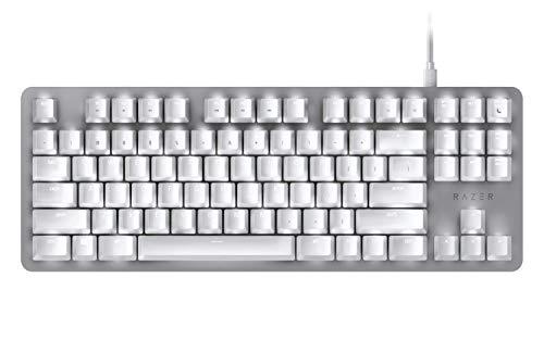 Razer-BlackWidow-Lite–Clavier-mcanique-Silencieux-avec-rtroclairage-LED-Blanc-pour-Une-productivit-Accrue-Blanc-US-Layout-0