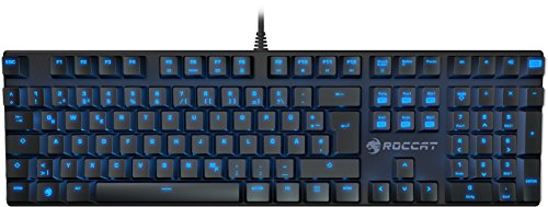Roccat-Suora-Mechanical-Tactile-Gaming-Clavier-FR-Layout-Touches-Mcaniques-Frameless-Touches-dEclairage-Indirect-Noir-0