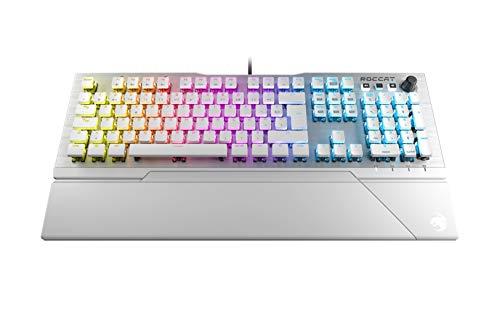 Roccat-Vulcan-122-Clavier-de-Jeu-Blanc-GAMING-mcanique-RGB-Rtro-clarage-LED-Aimo-Multicolore-touche-par-touche-Switchs-Titan-Conception-Durable-Plaque-Suprieure-en-aluminium-0